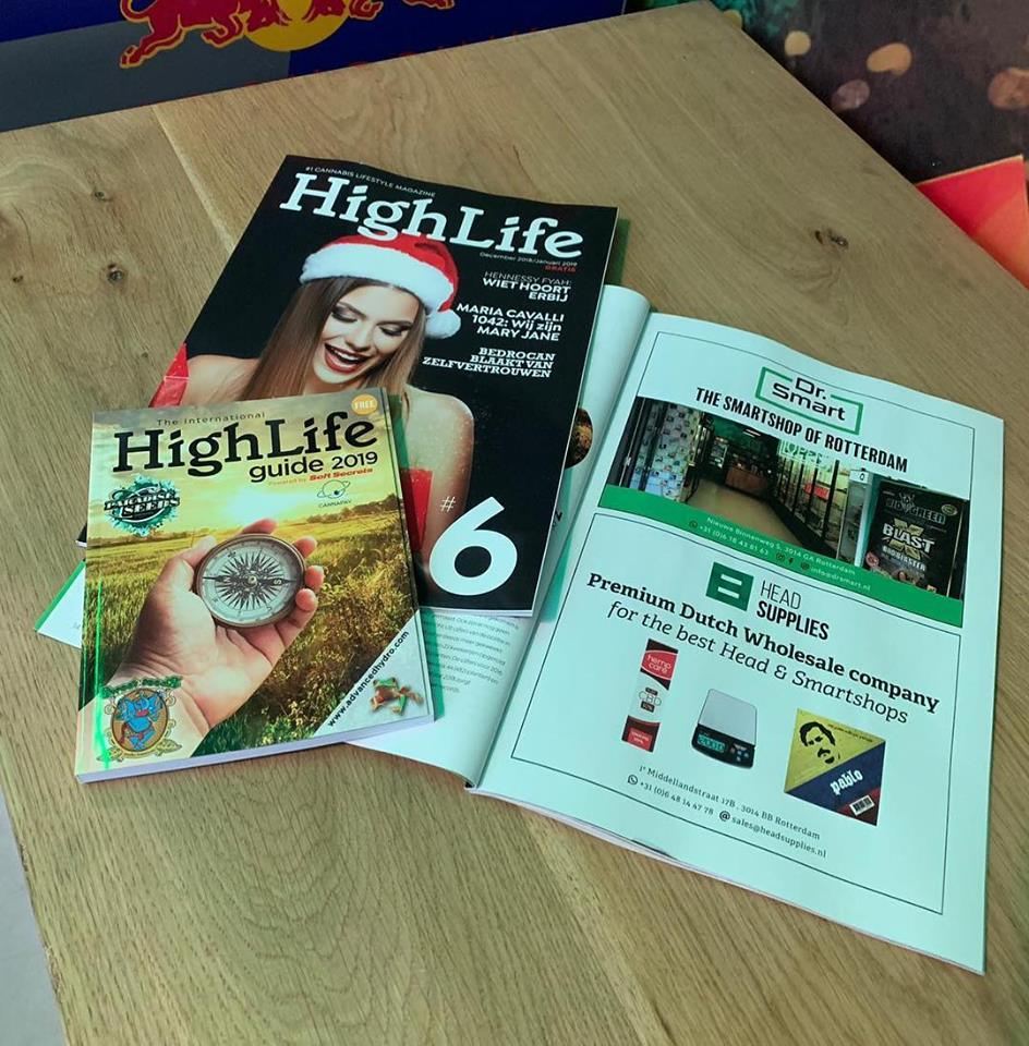 Dr. Smart - Highlife magazine - December 2018